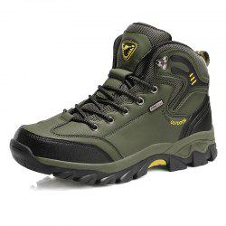 Large Size Men Outdoor Sports Anti-Skid Wear-Resistant Breathable Hiking Shoes -