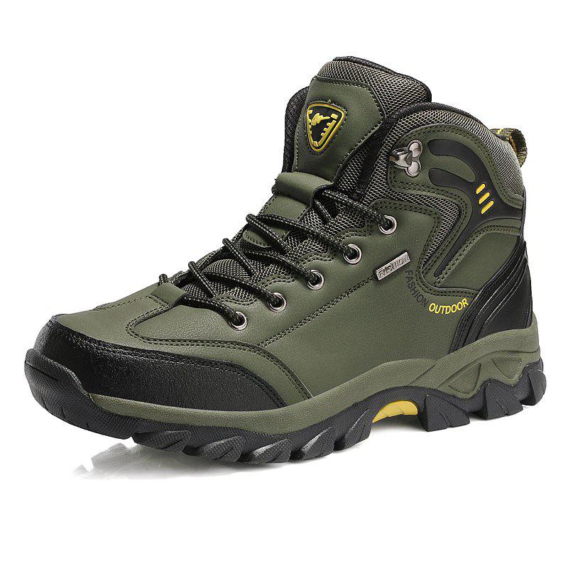 Discount Large Size Men Outdoor Sports Anti-Skid Wear-Resistant Breathable Hiking Shoes