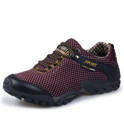 Casual Outdoor Hiking Shoes Breathable Mesh Shoes -