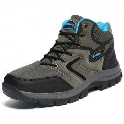 Hiking Shoes Waterproof Wear-Resistant High Help Couple Models -