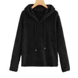 New Solid Color Jumper with Hooded Top -