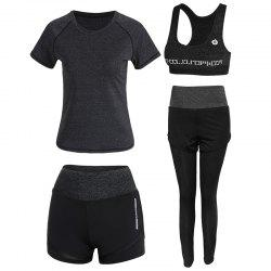 4 Pcs Women's Sports Set Clothing -