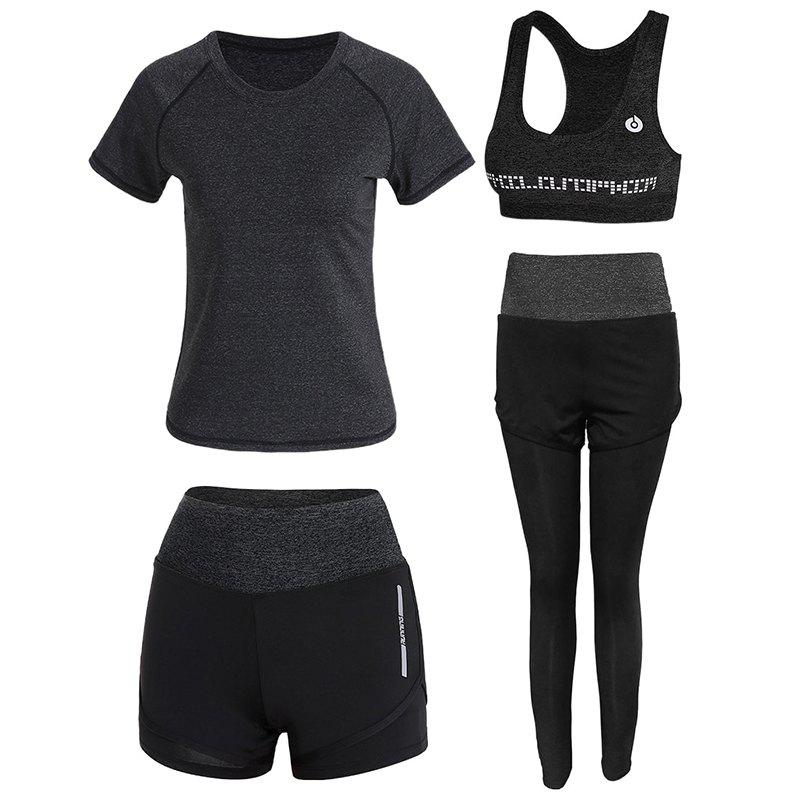 Shop 4 Pcs Women's Sports Set Clothing