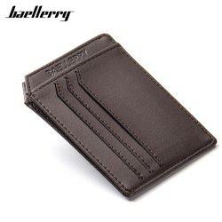 Baellerry Wholesale PU Leather Convenient ID Pocket  Card Holder -