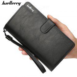 Baellerry Men Top Quality Leather Wallet Purse Fashion Casual Male Clutch -