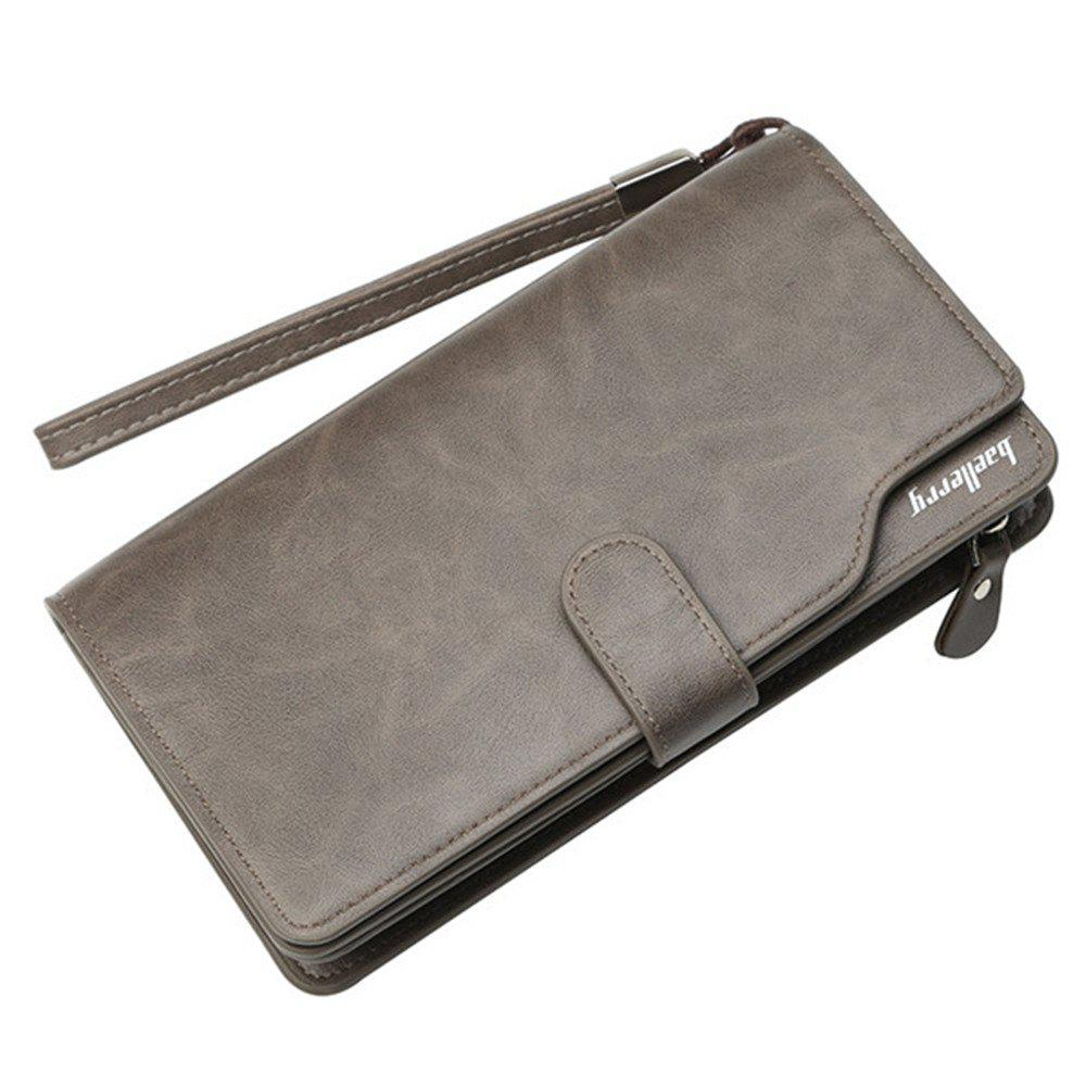Shop Baellerry Men Top Quality Leather Wallet Purse Fashion Casual Male Clutch