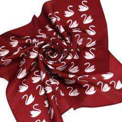 Yueor Mulberry Silk Crepe Satin Scarf Fashion Professional -