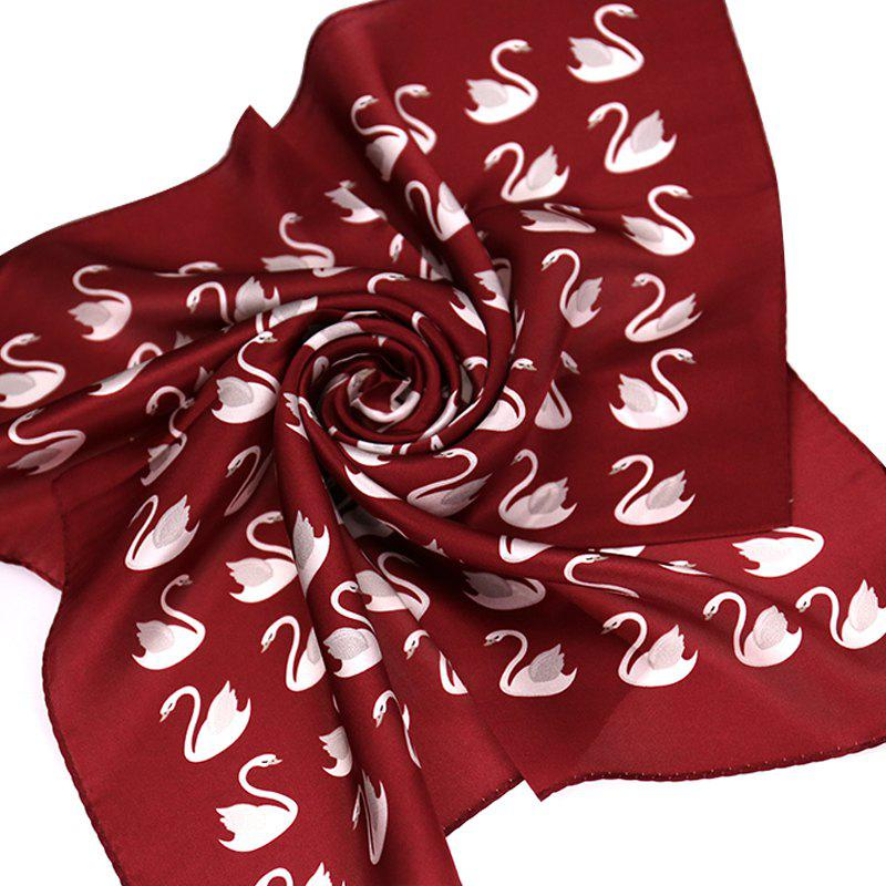 Yueor Mulberry Silk Crepe Satin Scarf Fashion Professional