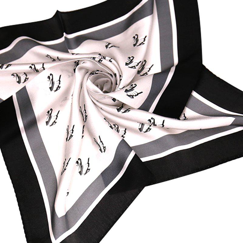 Buy Yueor Mulberry Silk Crepe Satin Scarf Pretty