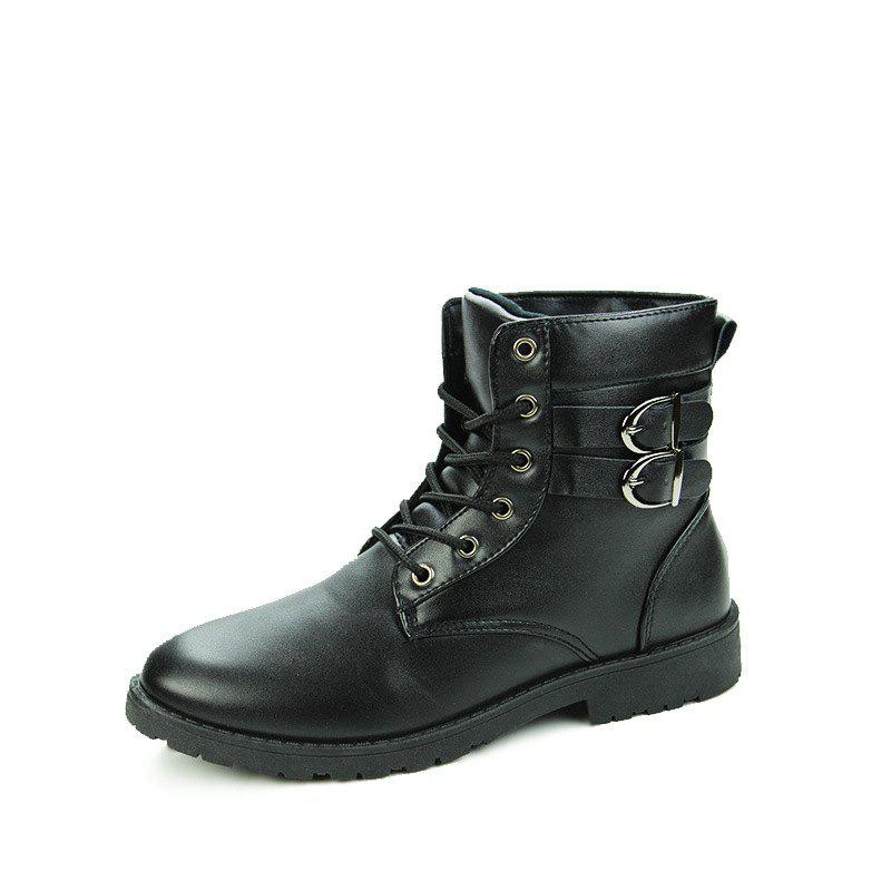 Affordable Winter Men's Casual Shoes England Style Boots High Helper Casual Boots