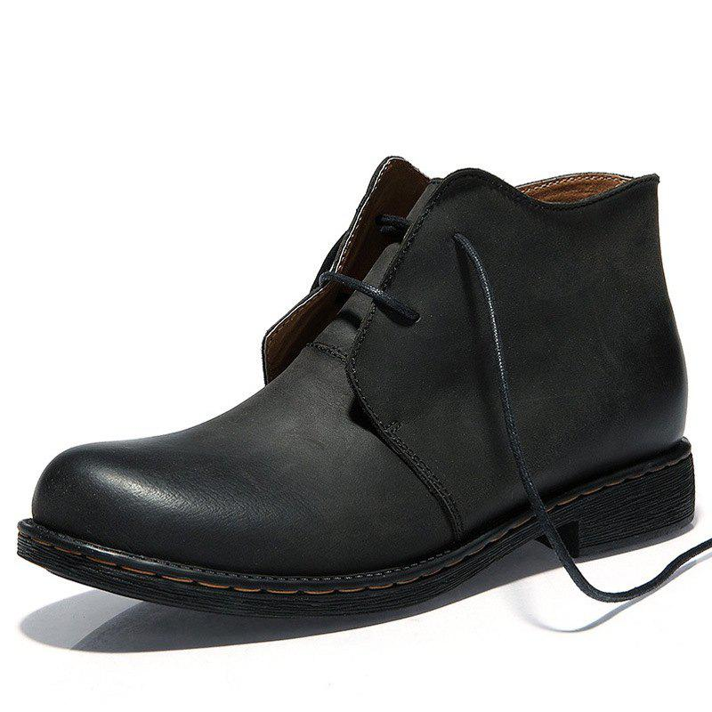 New New Middle-class Leather Shoes Outdoor Men's Boots