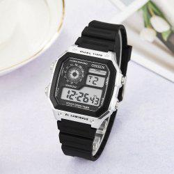 Multi-Function LED Electronic Watch -