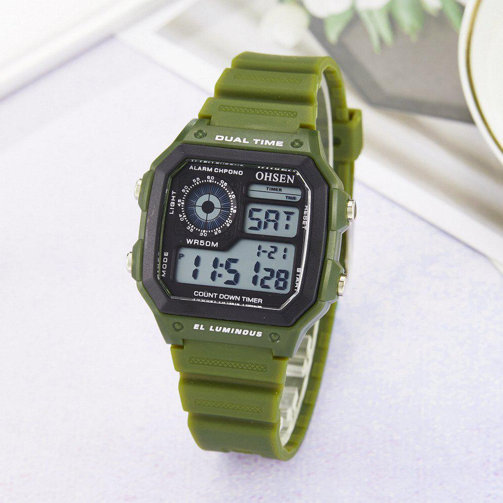 Unique Multi-Function LED Electronic Watch