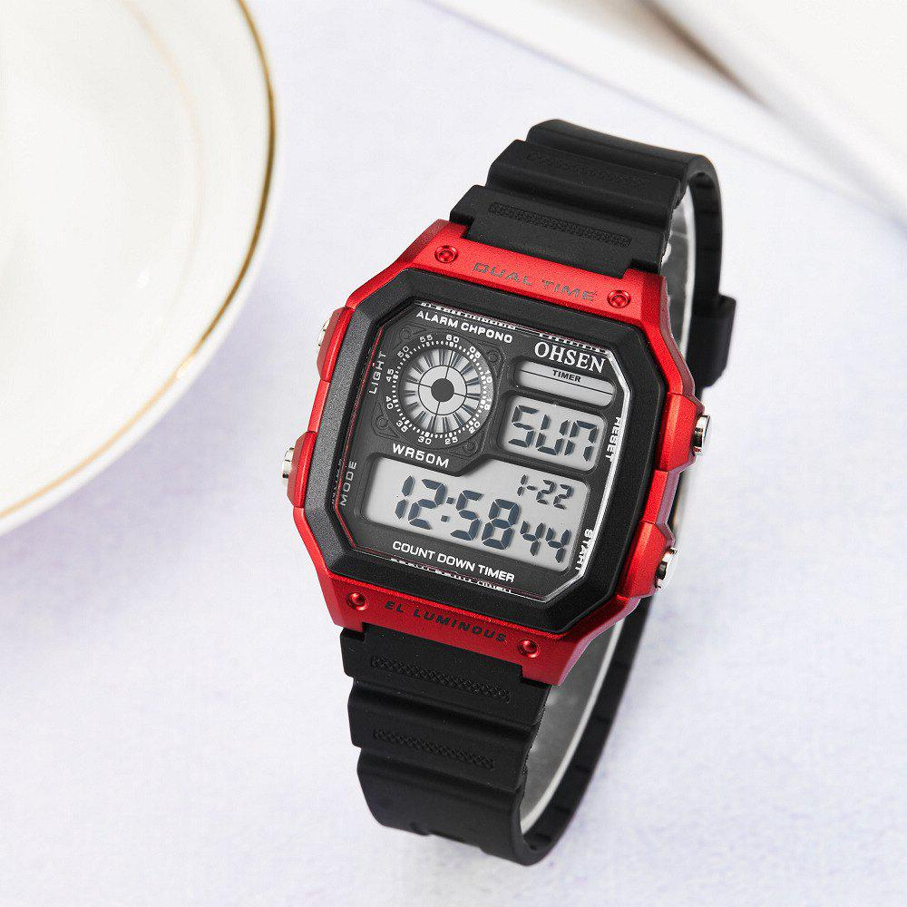 Trendy Multi-Function LED Electronic Watch