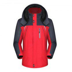 Men'S Jacket Jacket Waterproof Warm Mountaineering Wear Winter Outdoor Jacket -