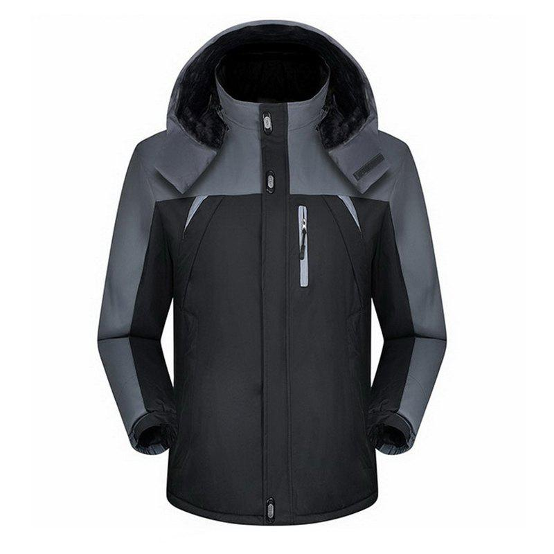 Buy Men'S Jacket Jacket Waterproof Warm Mountaineering Wear Winter Outdoor Jacket