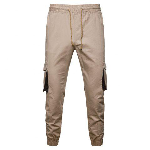 2018 New Autumn and Winter New Men'S Tooling Casual Pants