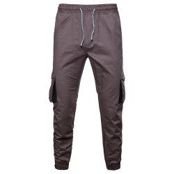 2018 New Autumn and Winter New Men'S Tooling Casual Pants -