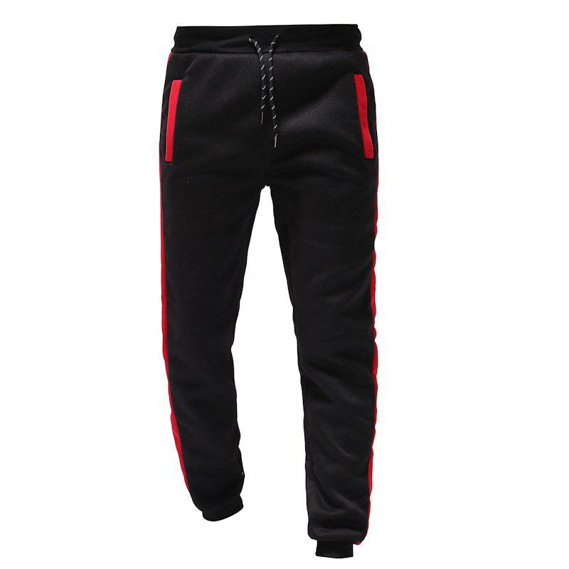 Sale 2018 Autumn and Winter New Color Matching Design Men'S Sports and Leisure Loose