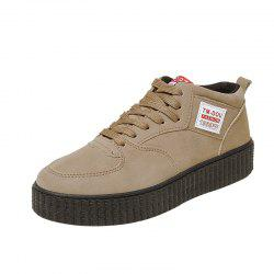 Thick Bottom Non-Slip Canvas Casual Board Shoes -
