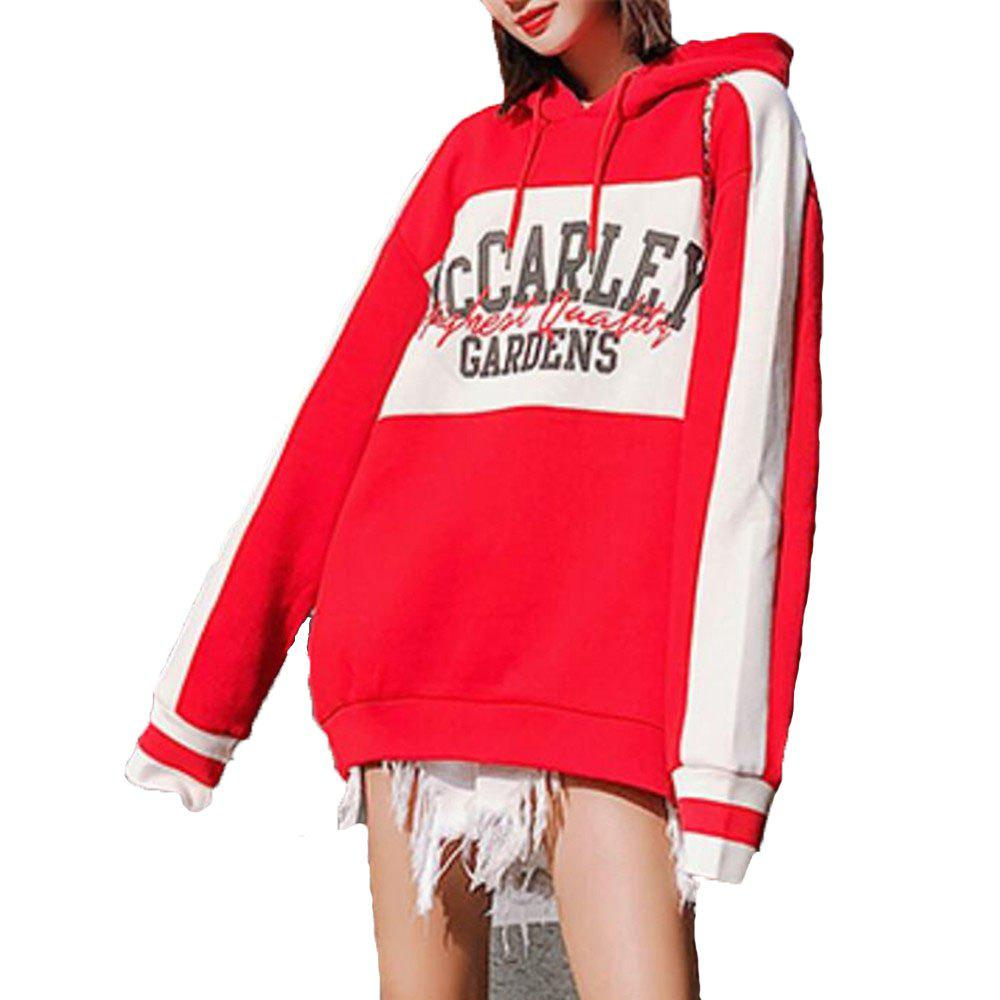 Discount Women's Loose Long Sleeve Hoodie