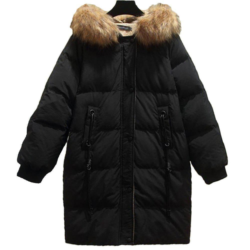 Trendy Women's Plus Size Loose Quilted Coat
