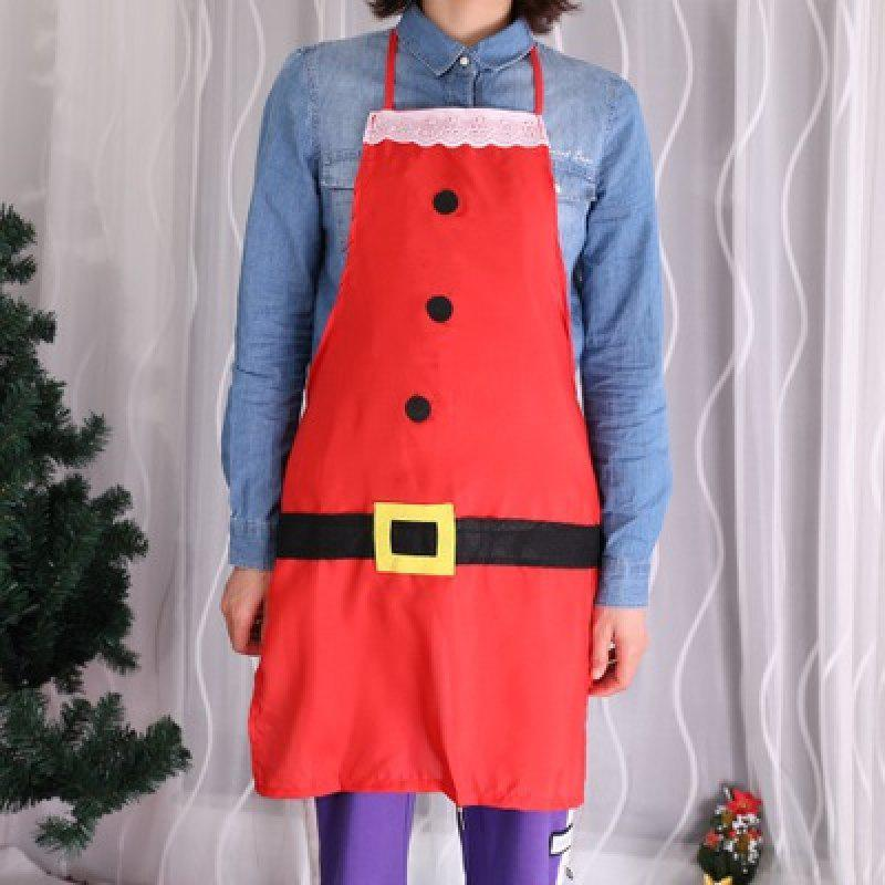 Fancy YEDUO Christmas Aprons Red Bib Waitress Fancy Dress Costumes