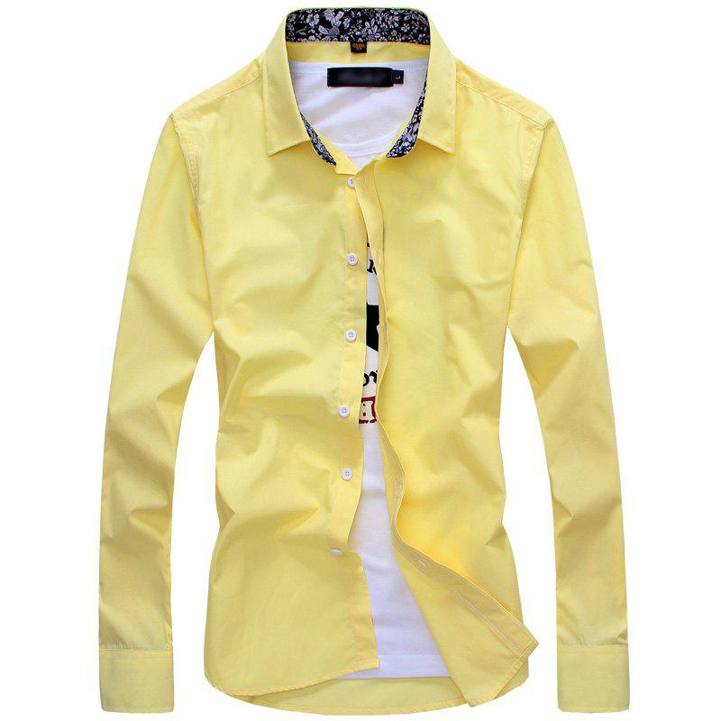 Latest Fashion and Business Man'S Long Sleeve Shirt