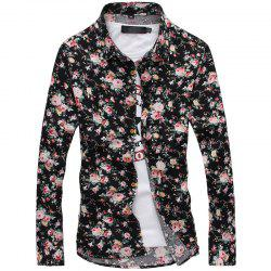 Fashion Men'S Long Sleeve Shirt -