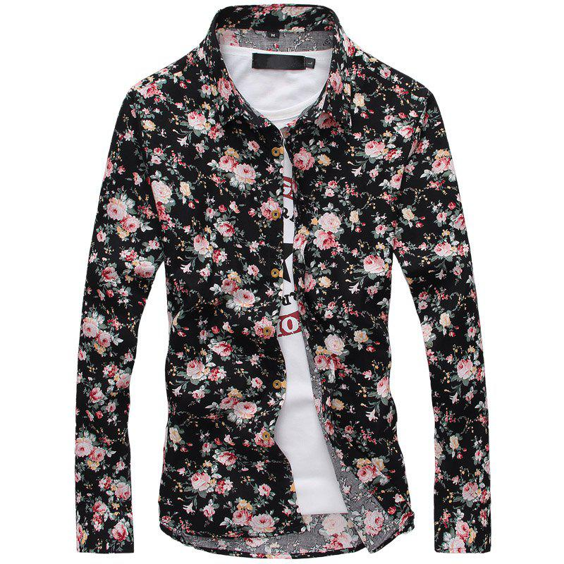 Online Fashion Men'S Long Sleeve Shirt