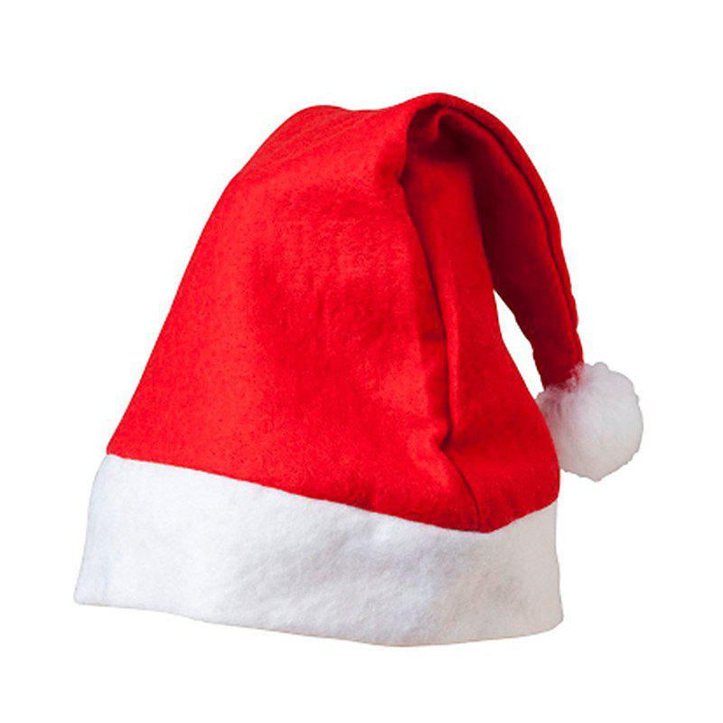 Chic Non-Woven Fabric Adult Santa Claus Hat