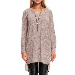 Long Sleeve Medium Length French Knitt Sweater -