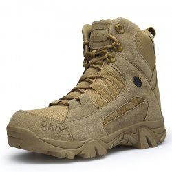 Men Trendy Autumn Winter Style Lace-Up Casual Fashion Outdoor Ankle Boots -