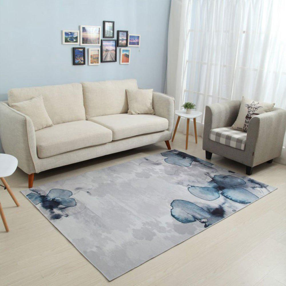 Outfit Style Ink Painting Pattern Living Room Bedroom Carpet Rug