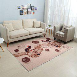 Household Decorative Carpet Chinese Style Soft Non-Slip Floor Mat -