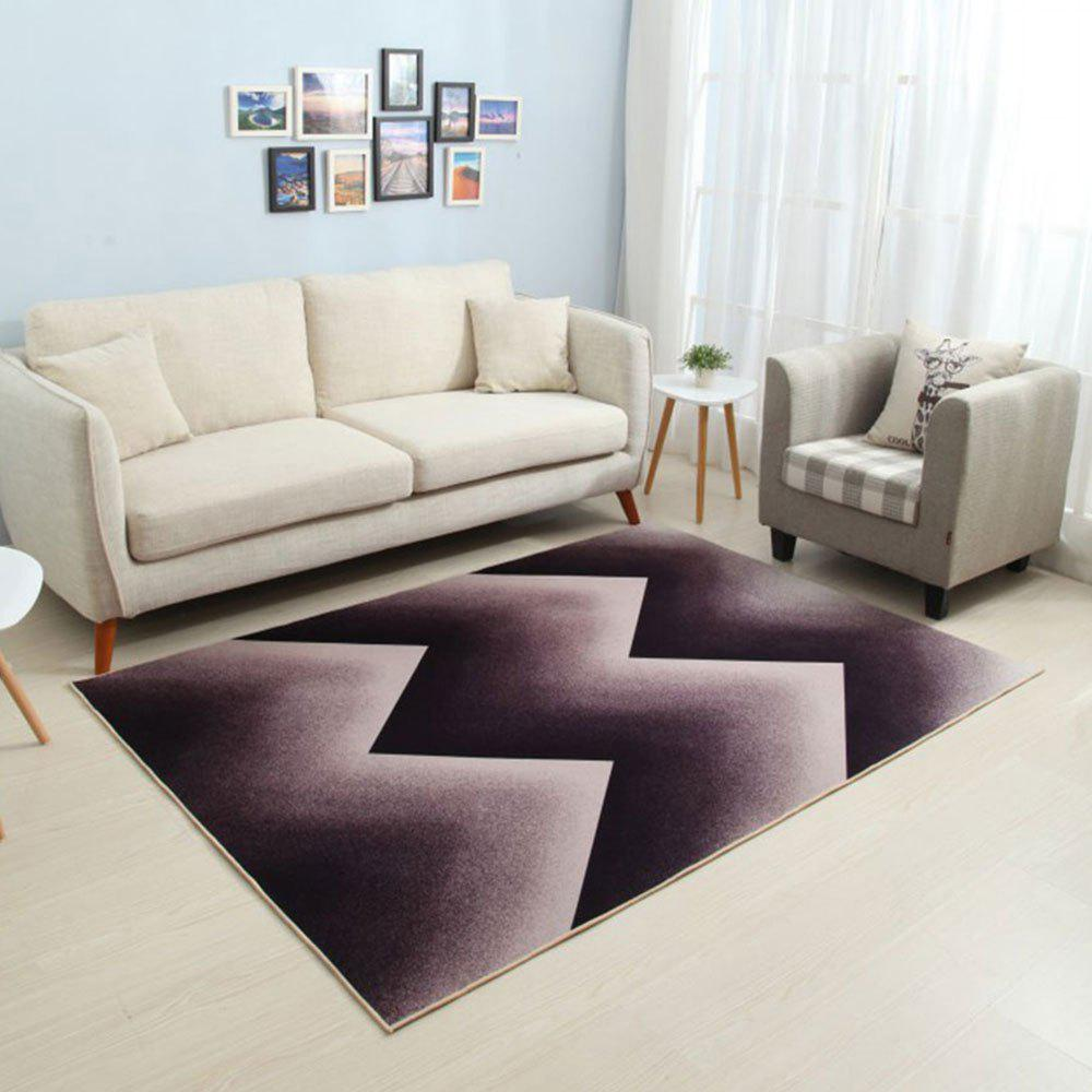 Unique Household Decorative Carpet Modern Style Geometric Pattern Soft Washable Floor