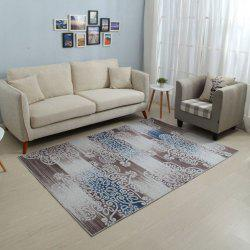 Household Decorative Carpet Vintage Style Soft Non-Slip Floor Mat -