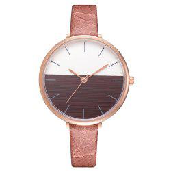 Xr2797 Fashion Casual Two-Color Mirror Trend Fine Watch with Quartz Watch -