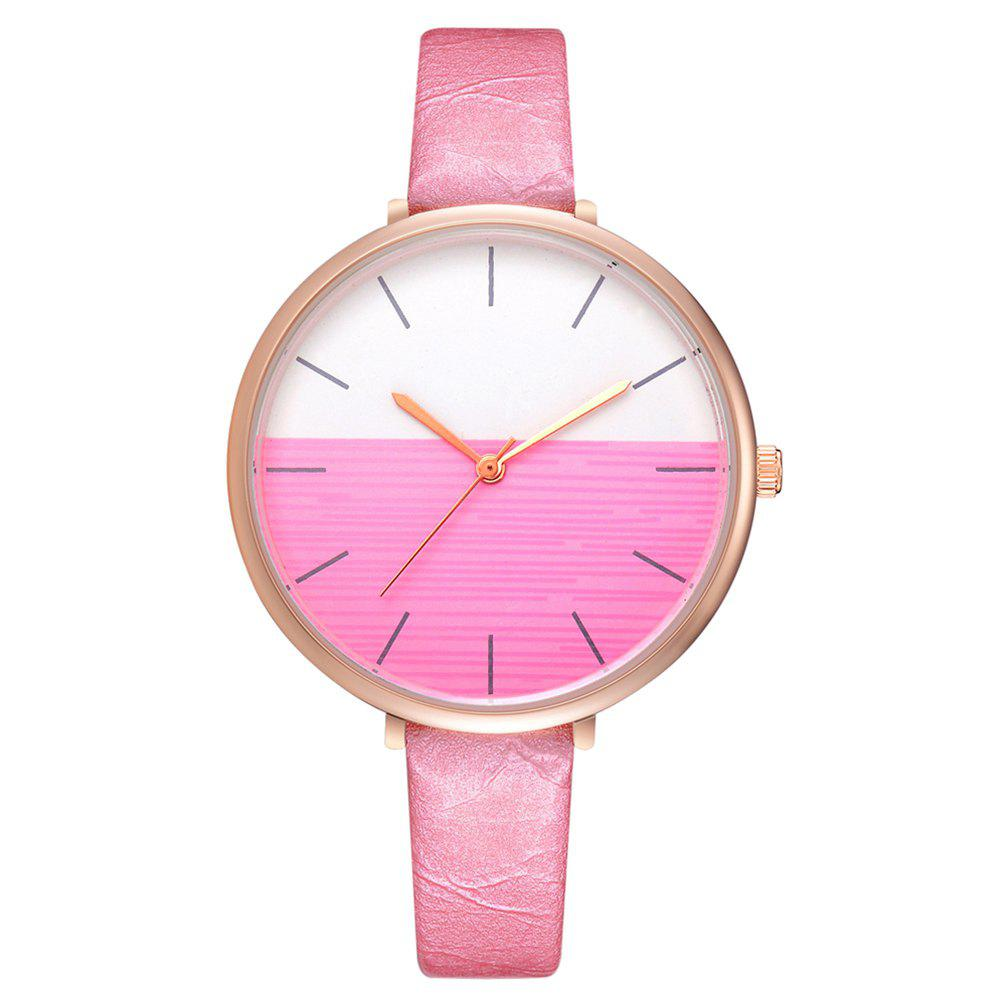 Trendy Xr2797 Fashion Casual Two-Color Mirror Trend Fine Watch with Quartz Watch