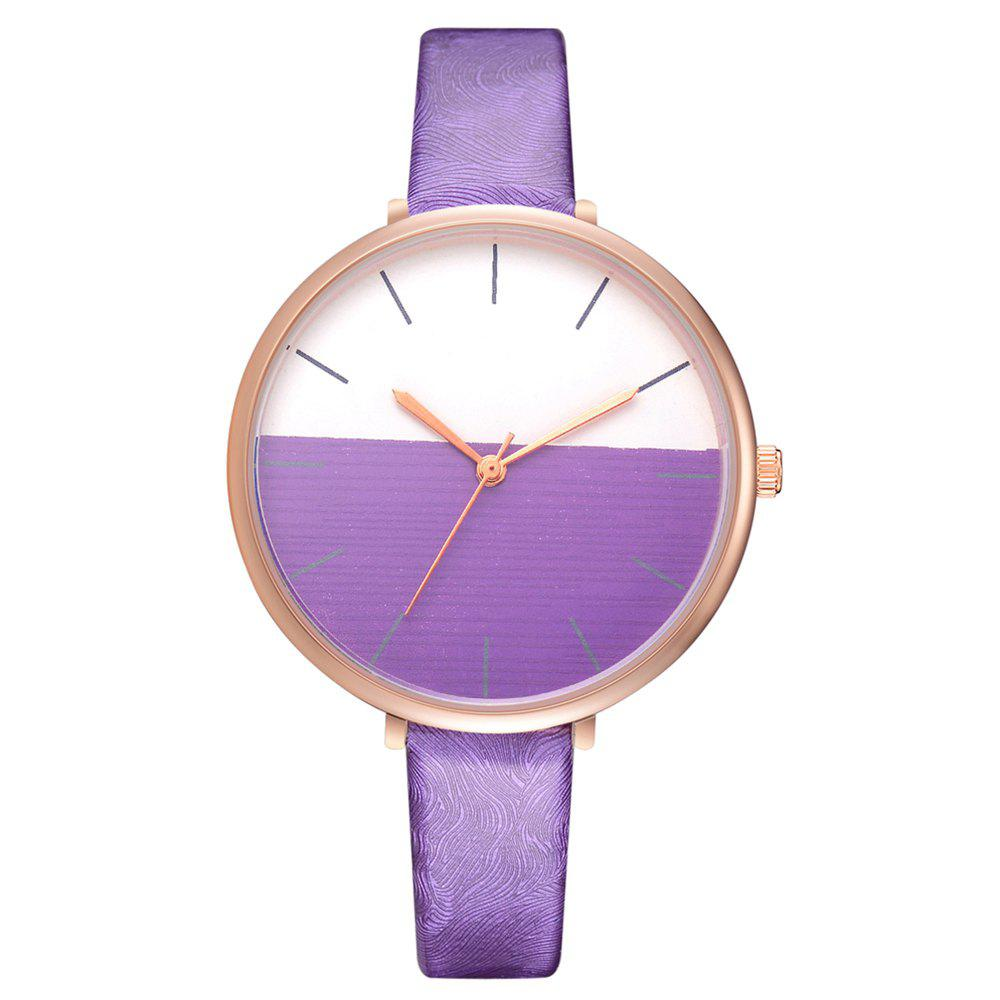 New Xr2797 Fashion Casual Two-Color Mirror Trend Fine Watch with Quartz Watch