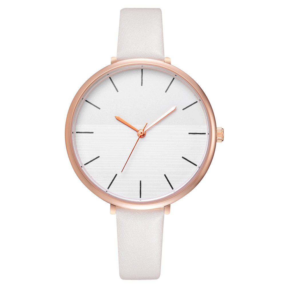 Fancy Xr2797 Fashion Casual Two-Color Mirror Trend Fine Watch with Quartz Watch
