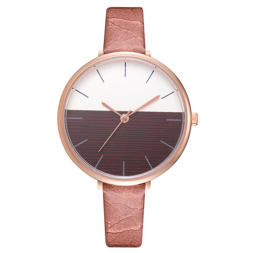 Discount Xr2797 Fashion Casual Two-Color Mirror Trend Fine Watch with Quartz Watch