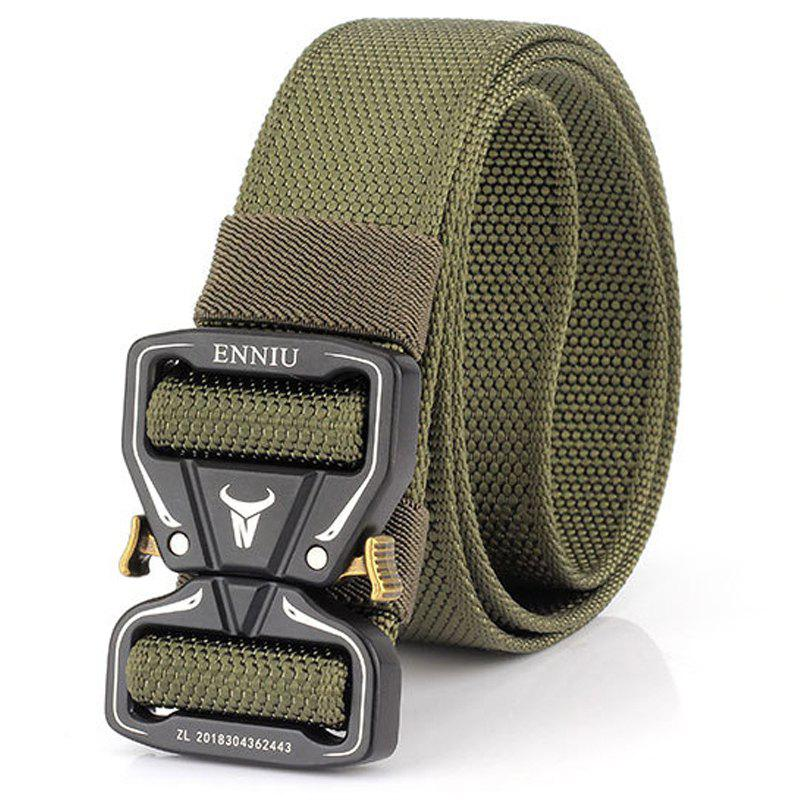 Hot ENNIU New Two-way Cobra Nylon Men's Tactical Belt