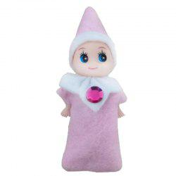 New Xmas Elf Baby Plush Toy Christmas Dolls for Christmas Decoration -