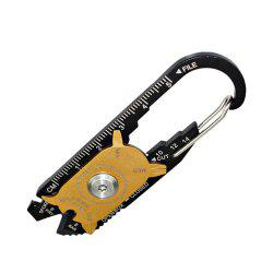 Multifunctional Combination Tool Outdoor Gadget Portable Keychain -