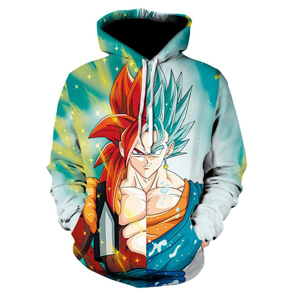 Online New Anime Game Characters 3D Printed Hoodies