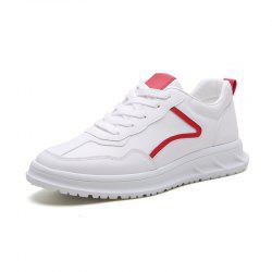 Chaussures Sneakers pour hommes Chaussures blanches - Rouge EU 39