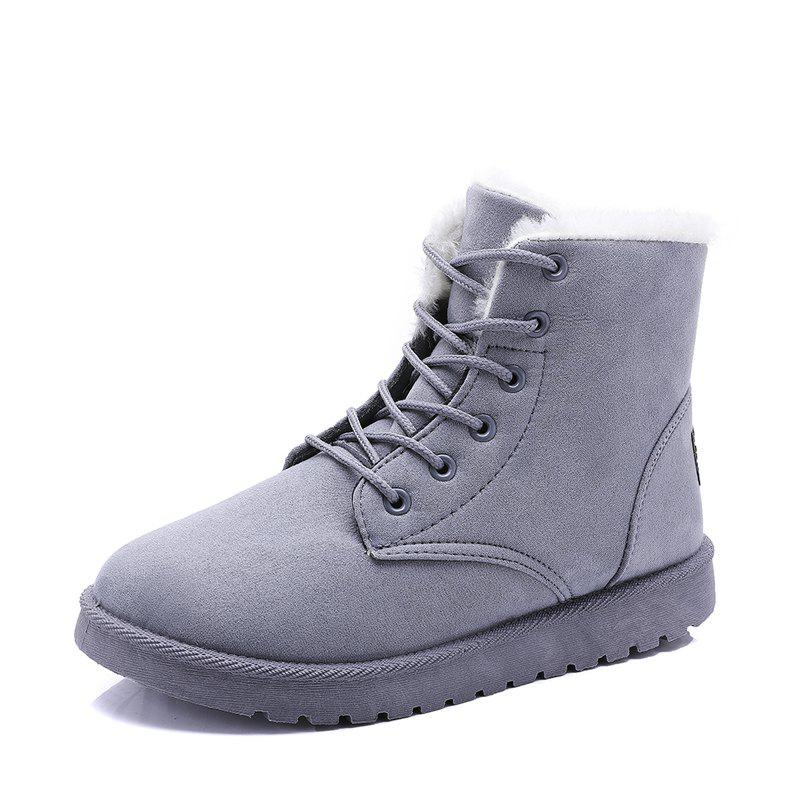 Fashion Winter Women'S Shoes High To Help Warm Snow Boots Boots