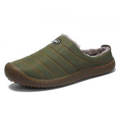 Men'S Slippers Warm Cotton Tow Household Cotton Shoes -