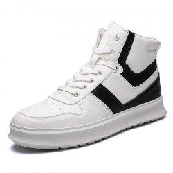 High-Top Shoes Men'S Sports Shoes British Wind Shoes -